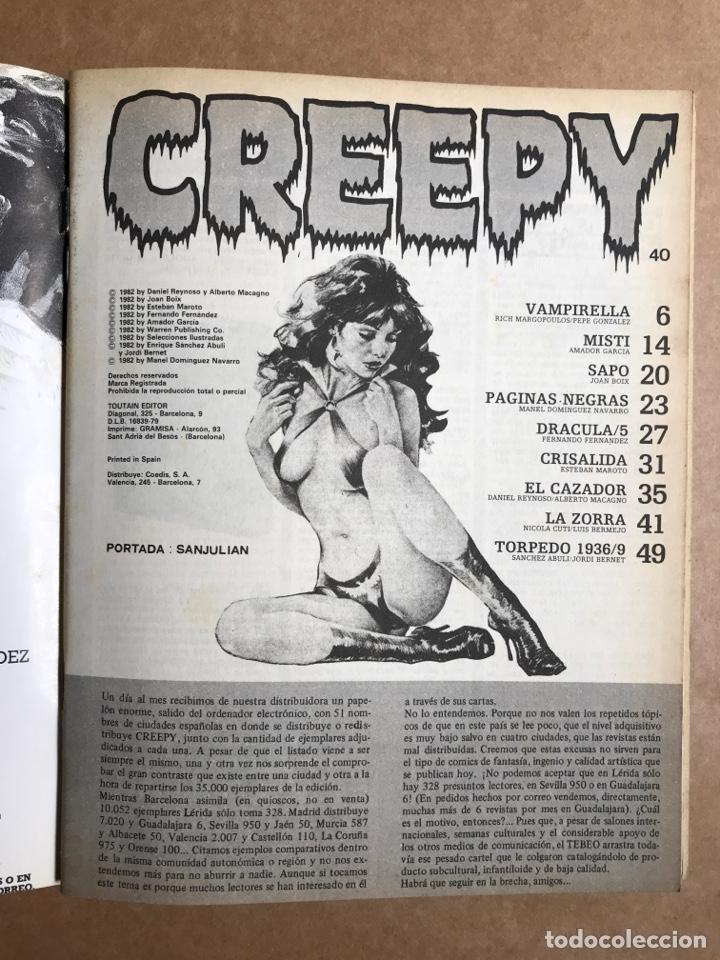 Cómics: Creepy Extra 8 - Retapado con el 36, 38, 39 y 40 - Foto 7 - 262040360
