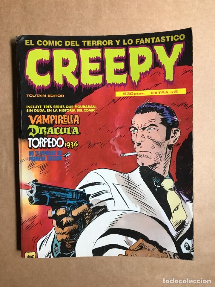 CREEPY EXTRA 8 - RETAPADO CON EL 36, 38, 39 Y 40 (Tebeos y Comics - Toutain - Creepy)