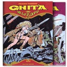 Cómics: GHITA DE ALIZARR 1 Y 2 COMPLETA. Lote 262257630