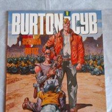 Cómics: COMIC: BURTON & CYB (1) - DE ANTONIO SEGURA Y JOSE ORTIZ - TOUTAIN EDITOR. Lote 262552685