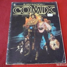 Cómics: COMIX Nº 8 ILUSTRACION INTERNACIONAL ( EISNER BEA ) TOUTAIN. Lote 262671175