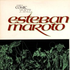 Cómics: ESTEBAN MAROTO. CUANDO EL COMIC ES ARTE TOUTAIN. AÑO 1976. Lote 262675765
