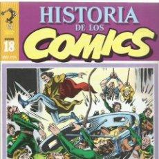 Cómics: HISTORIA DE LOS CÓMICS 18, 1982, TOUTAIN, MUY BUEN ESTADO. CAPITÁN TRUENO. Lote 262692740