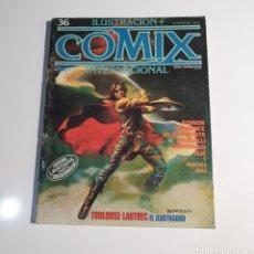 Cómics: CÓMIC, ILUSTRACIÓN + COMIX, INTERNACIONAL, NUM. 36.. Lote 262822510