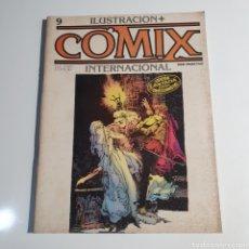 Cómics: CÓMIC, ILUSTRACIÓN + COMIX, INTERNACIONAL, NUM. 9.. Lote 262822565