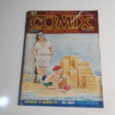 Cómics: CÓMIC, ILUSTRACIÓN + COMIX, INTERNACIONAL, NUM. 63.. Lote 262822600