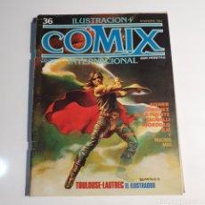 Cómics: CÓMIC, ILUSTRACIÓN + COMIX, INTERNACIONAL, NUM. 36.. Lote 262822680
