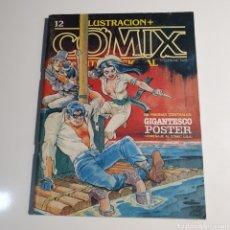 Cómics: CÓMIC, ILUSTRACIÓN + COMIX, INTERNACIONAL, NUM.12, COMPLETO CON PÓSTER.. Lote 262822885