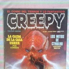 Cómics: CREEPY Nº 60 1984 POE CORBEN LOVECRAFT BRECCIA. Lote 262942315