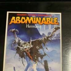 Cómics: ABOMINABLE, DE HERMANN. Lote 263045965
