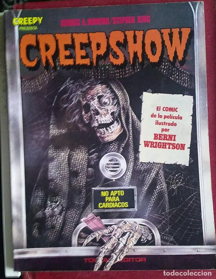 CREPPY CREEPSHOW TOUTAIN EDITOR. (Tebeos y Comics - Toutain - Creepy)
