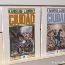 Cómics: CIUDAD COMPLETA TOMOS 1 Y 2 - TOUTAIN OCASION. Lote 265212494