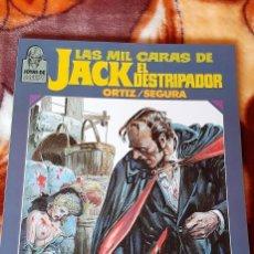 Fumetti: LAS MIL CARAS DE JACK EL DESTRIPADOR. JOYAS DE CREEPY. TOUTAIN EDITOR 1986.. Lote 265547844