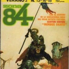 Cómics: ZONA 84 VERANO Nº 2 (RETAPADO CON LOS NUMEROS 13 A 15) TOUTAIN - BUEN ESTADO - SUB01M. Lote 265762334