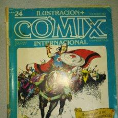 Cómics: COMIC. N°24.NOVIEMBRE 1982.TOUTAIN EDITOR. EN REGULAR ESTADO DE CONSERVACIÓN. BLANCO Y NEGRO Y COLOR. Lote 265958963