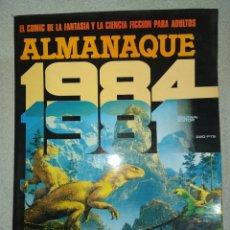 Cómics: 1984.COMIC A COLOR. TOUTAIN EDITOR. 1980.COMIC EN EXCELENTE ESTADO DE CONSERVACIÓN.. Lote 265968638