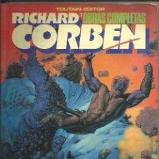 Cómics: RICHARD CORBEN, OBRAS COMPLETAS BLOODSTAR, TOUTAIN EDITOR. AÑO 1983. Lote 266181923