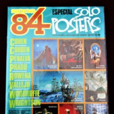 Comics: ZONA 84 ESPECIAL SOLO POSTERS TOUTAIN EDITOR VERANO 1985 EXCELENTE ESTADO.. Lote 266430193