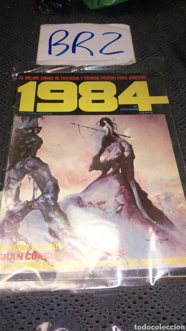 REVISTA CÓMIC 1984 TOUTAIN NÚMERO 16 (Tebeos y Comics - Toutain - 1984)
