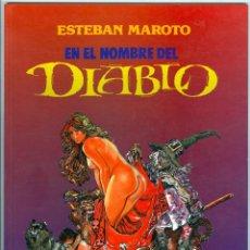 Fumetti: TOUTAIN. EN EL NOMBRE DEL DIABLO. MAROTO.. Lote 272644388