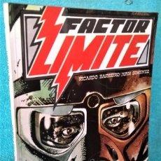 Comics: FACTOR LIMITE DE R. BARREIRO Y JUAN GIMÉNEZ (COL. VILÁN) ED. SAN ROMAN, 1981.. Lote 266927174