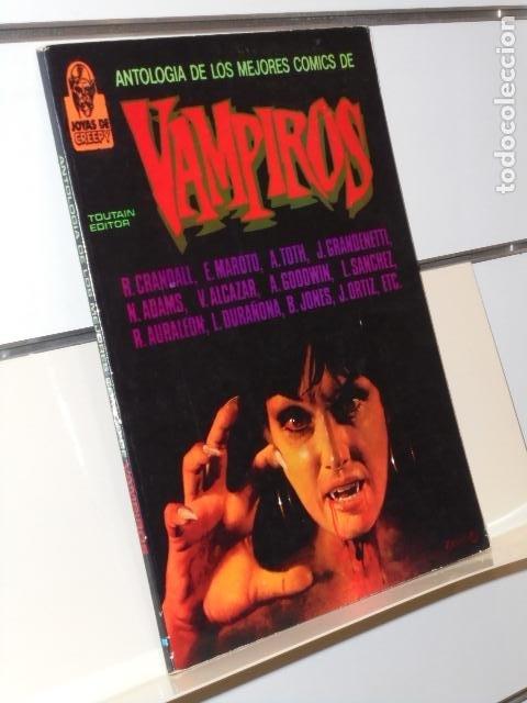 JOYAS DE CREEPY ANTOLOGIA DE LAS MEJORES HISTORIAS DE VAMPIROS - TOUTAIN (Tebeos y Comics - Toutain - Álbumes)