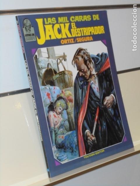 JOYAS DE CREEPY LAS MIL CARAS DE JACK EL DESTRIPADOR ORTIZ Y SEGURA - TOUTAIN (Tebeos y Comics - Toutain - Álbumes)