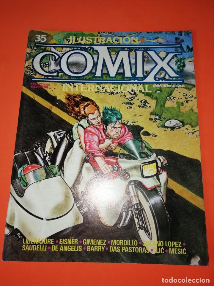 COMIX INTERNACIONAL. Nº 35 TOUTAIN EDITOR. (Tebeos y Comics - Toutain - Comix Internacional)