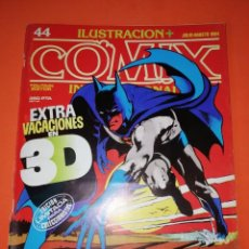 Cómics: COMIX INTERNACIONAL. Nº 44 TOUTAIN EDITOR. CON GAFAS ORIGINALES.. Lote 267169664