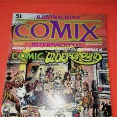 Comics: COMIX INTERNACIONAL. Nº 51. TOUTAIN EDITOR.. Lote 267173204
