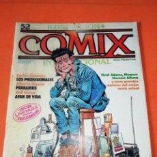 Cómics: COMIX INTERNACIONAL. Nº 52. TOUTAIN EDITOR. POSTER DE JUAN GIMENEZ. Lote 267173944