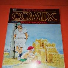 Cómics: COMIX INTERNACIONAL. Nº 63. TOUTAIN EDITOR.. Lote 267176569