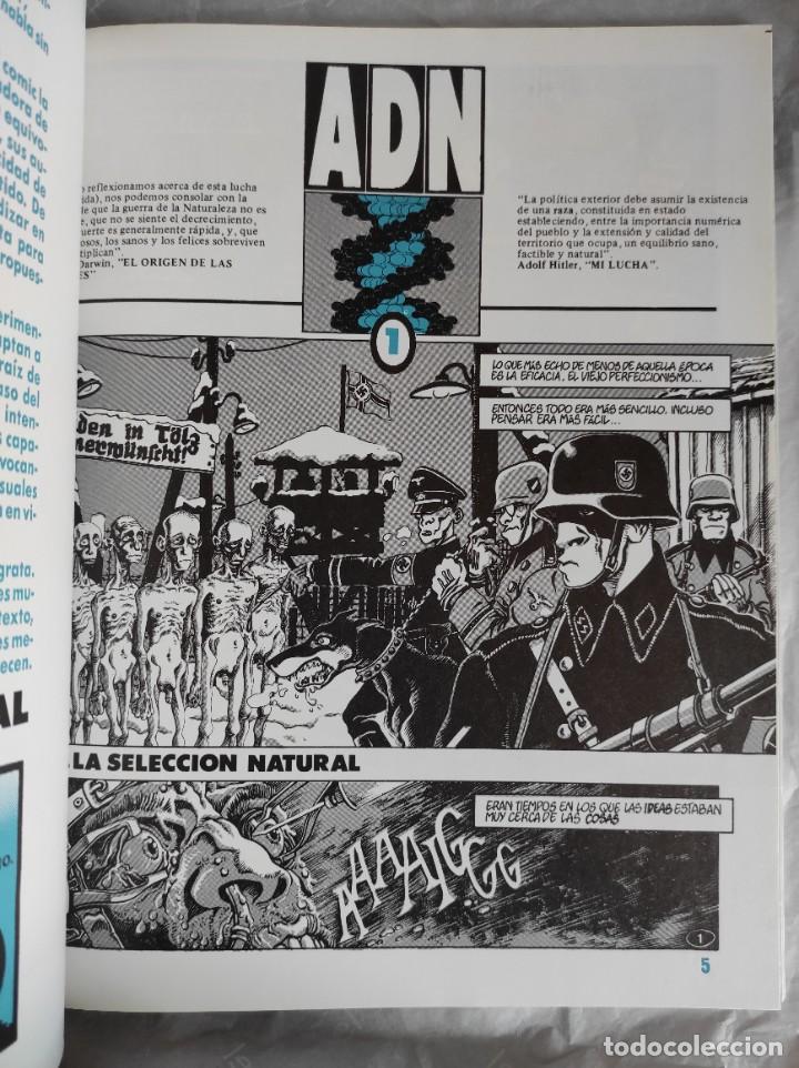 Cómics: Comic: ADN - de F. De Felipe y Oscaraibar - Toutain Editor - Foto 3 - 267505584