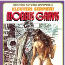 Fumetti: COMIC DRUUNA (GRANDES AUTORES EUROPEOS 5): MORBUS GRAVIS - ELEUTERI SERPIERI; TOUTAIN EDITOR. Lote 267603919
