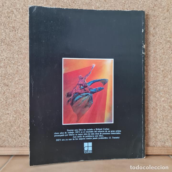 Cómics: DEN 1ª EDICIÓN 1978 - RICHARD CORBEN - TOUTAIN EDITOR - Foto 2 - 267611884