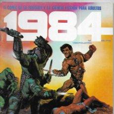 Cómics: 1984 COMIC DE LA FANTASIA Y CIENCIA FICCIÓN PARA ADULTOS.Nº 24. Lote 267753624