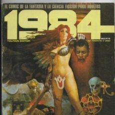 Cómics: 1984 COMIC DE LA FANTASIA Y CIENCIA FICCIÓN PARA ADULTOS.Nº 31. Lote 267755239