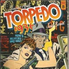 Fumetti: TORPEDO-1936 - TOMO 5 - SÁNCHEZ ABULI, JORDI BENET - TOUTAIN ED. - 1987 - 1ª EDICIÓN. Lote 268476254