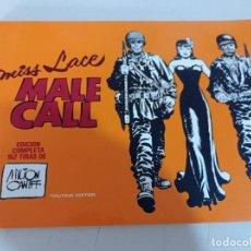 Cómics: MISS LACE. MALE CALL - EDICIÓN COMPLETA 152 TIRAS - AUTOR: MILTON CANIFF - AÑO 1982 REF. UR MES. Lote 268797739