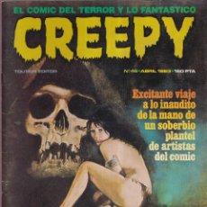 Cómics: CREEPY Nº 46 - ABRIL 1983 - TOUTAIN EDITOR. Lote 268821484