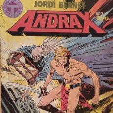 Cómics: ANDRAX COLECCIÓN COMPLETA 12 EJEMPLARES - JORDI BERNET EDICIONES TOUTAIN.. Lote 268940249