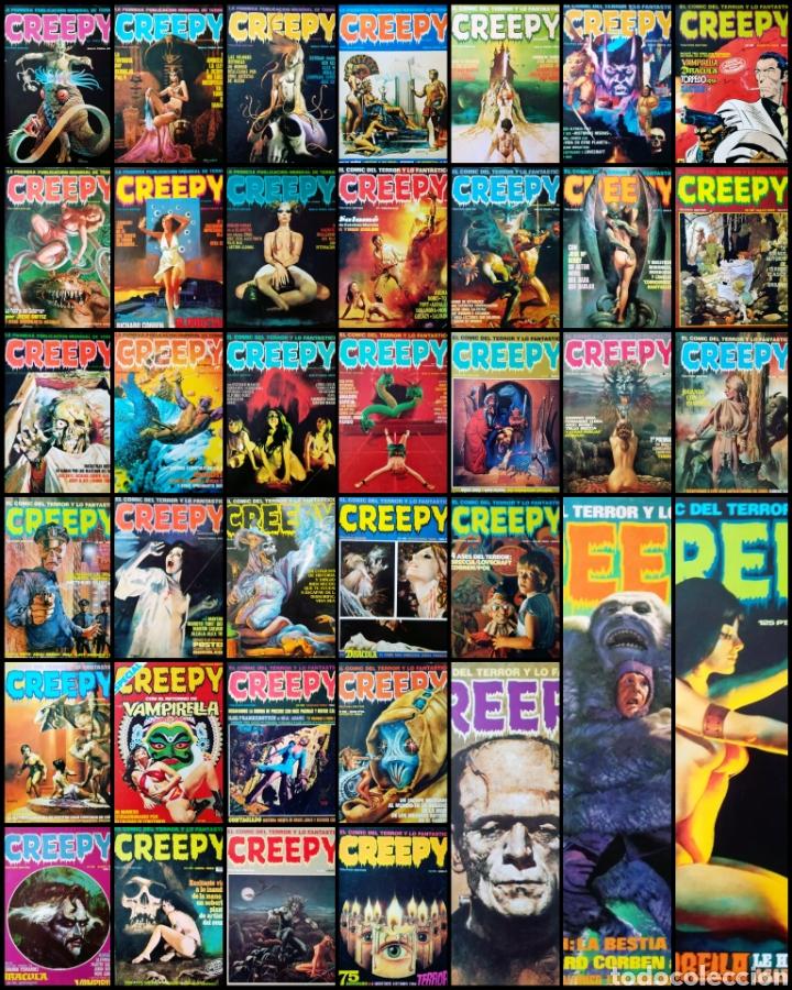 CREEPY (LOTE DE 37) (Tebeos y Comics - Toutain - Creepy)