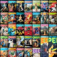 Cómics: CREEPY (LOTE DE 37). Lote 268993929