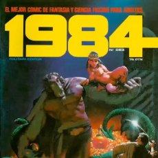 Comics: COMIC 1984 Nº 10 - FANTASIA Y CIENCIA FICCION - TOUTAIN EDITOR - 1979 - MUY BUEN ESTADO. Lote 269439948