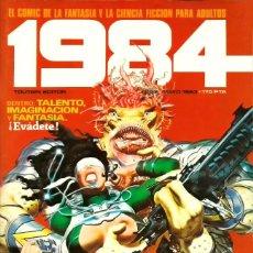 Cómics: COMIC 1984 Nº 52 - FANTASIA Y CIENCIA FICCION - TOUTAIN EDITOR - 1983 - MUY BUEN ESTADO. Lote 269478988