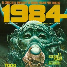 Cómics: COMIC 1984 Nº 53 - FANTASIA Y CIENCIA FICCION - TOUTAIN EDITOR - 1983 - MUY BUEN ESTADO. Lote 269479198
