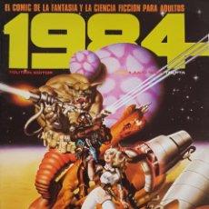 Cómics: COMIC 1984 Nº 54 - FANTASIA Y CIENCIA FICCION - TOUTAIN EDITOR - 1983 - MUY BUEN ESTADO. Lote 269479518