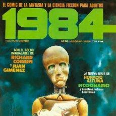 Cómics: COMIC 1984 Nº 55 - FANTASIA Y CIENCIA FICCION - TOUTAIN EDITOR - 1983 - MUY BUEN ESTADO. Lote 269479798
