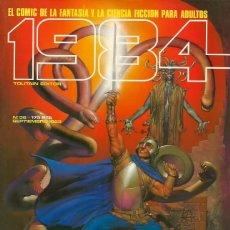 Cómics: COMIC 1984 Nº 56 - FANTASIA Y CIENCIA FICCION - TOUTAIN EDITOR - 1983 - MUY BUEN ESTADO. Lote 269482118