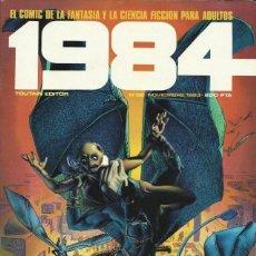 Cómics: COMIC 1984 Nº 58 - FANTASIA Y CIENCIA FICCION - TOUTAIN EDITOR - 1983 - MUY BUEN ESTADO. Lote 269482298